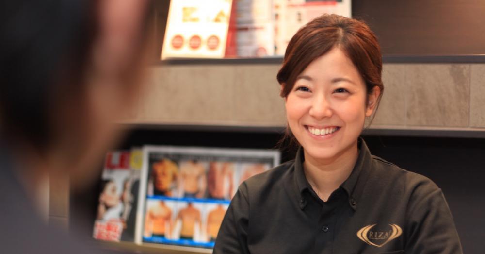 プライベートジム『RIZAP 広島店』のトレーナー